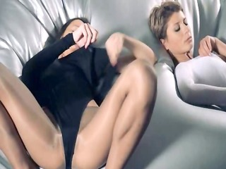 sweethearts in hose fuck with thong on