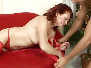 wicked old redhead fucking like insane