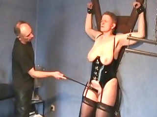 non-professional dungeon whipping