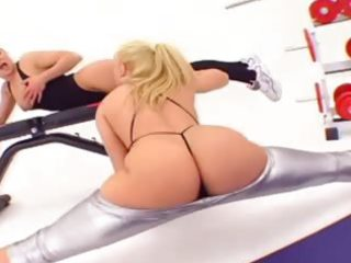 supplementary sexy arse fucking of sexy lesbian