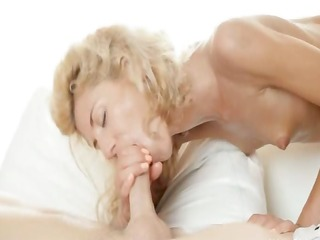 bizarre golden-haired stephanie gangbanged by