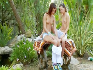 brutal double marital-device and croatian lezzies