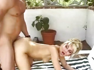 magnetic blond with constricted gazoo acquires