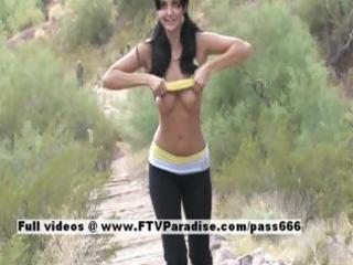 luna ingenious breasty dark brown flashing