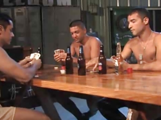 army undress poker threesome.