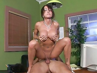 sexy mother i chick receives roughly screwed in