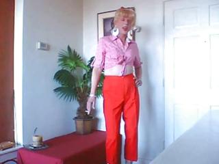 sissy wench wendy jane prancin and friggin
