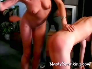 paddeld and spanked ladies