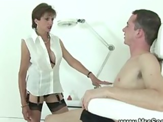 british female-dom treating patient