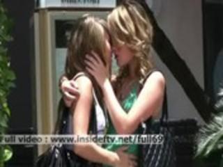sara&_rilee _ sexy lesbo women giving a kiss