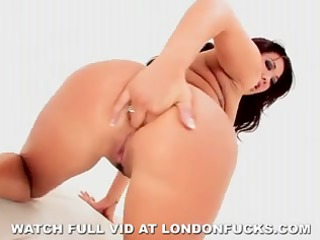london keyes anal solo on white