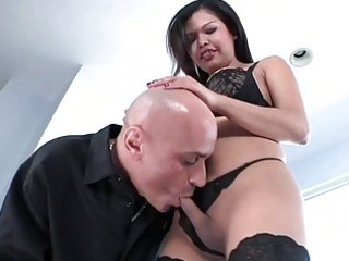 breasty oriental lady-man carmen moore acquires
