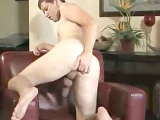spunky homo boy toying with himself