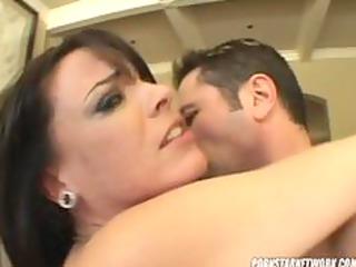 dana dearmond swallows down a large moist load