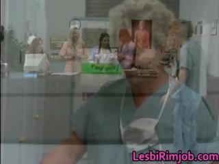 concupiscent lesbo nurses wazoo anal drilling