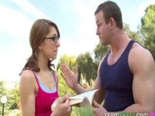 nerdy lexi bloom receives screwed hard by her