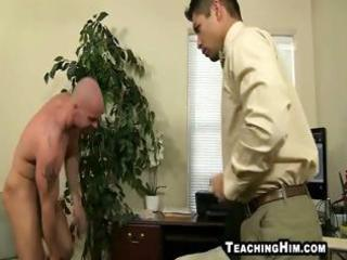 latino bottom giving up his throat and a-hole to