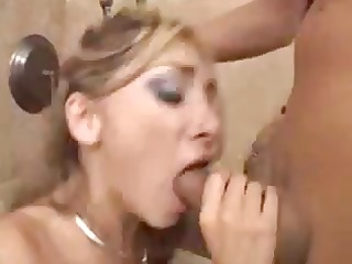 blond with a worthy gazoo eats knobs and receives