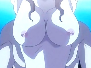 Bondage hentai with muzzle assfucked bigcock