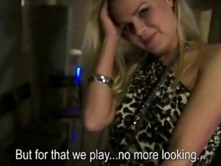 non-professional blond bar beauty anal n squirting