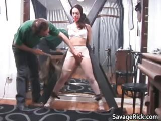 perverted brunette hair hoe brianna receives her