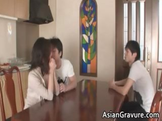 hawt and sexually excited oriental mother i sucks