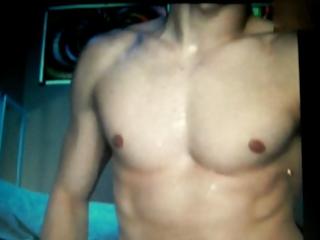 sexy juvenile str chap on webcam cums a load
