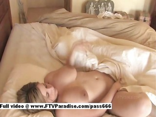 mysterious hawt hotty toing vagina in bedroom