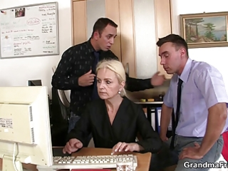 she is pleases schlongs at job interview