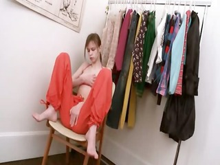 beata legal age teenager tease in dressing room