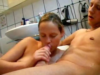 washroom oral-job