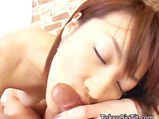 large titty oriental hottie akari drilled hard