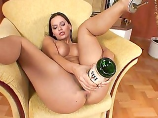 bawdy cleft masturbations with lustful brunette