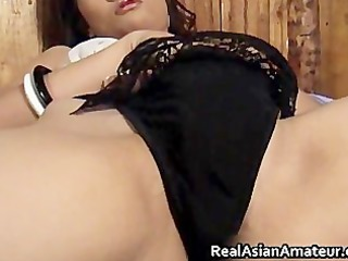 real oriental non-professional bares sucks her