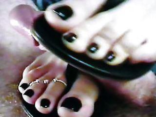 sandals footjob