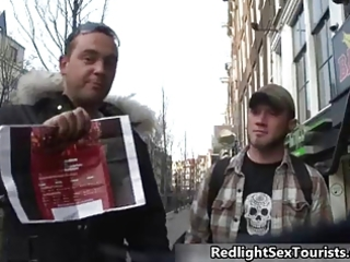 excited american tourist wishes to fuck