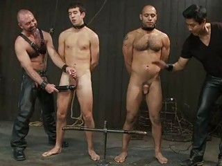 homosexual chaps got tortured in the dungeon