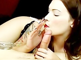 smokin oral sex (sexy tatoo girl)