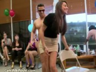 birthday striptease receives filthy