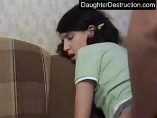 juvenile legal age teenager drilled hard in her