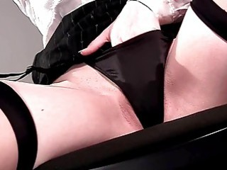 panty play and closeup masturbation in underware