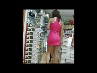 upskirt shoe shop 4