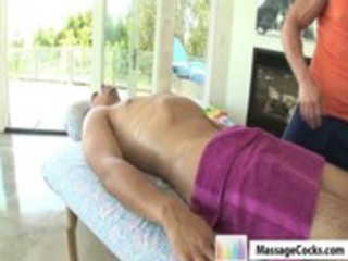 massagecocks non-professional oily massage