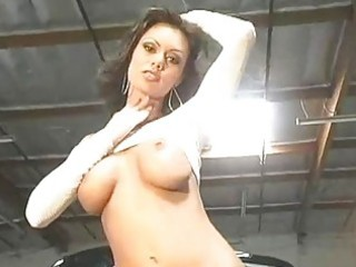 marvelous crissy moran stripping and flashing her