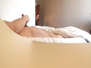 caught jerking off by hotel maid