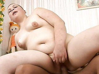 hot russian plump legal age teenager jumping on a