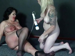 outlandish lesbian babes coarse humiliation and