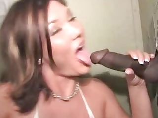 claire dames at a gloryhole