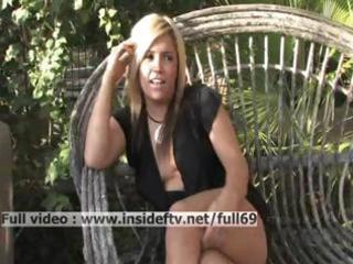 audrey _ dilettante blond talking about sex and