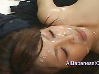 oriental hotty is bukkake instructor